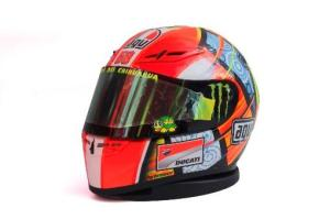 Rossi Wears New Helmet As Tribute to Marco Simoncelli