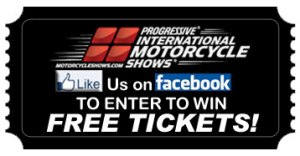 Click Here To Enter To Win FREE TICKETS to the International Motorcycle Shows