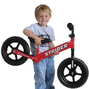 The Strider Running Bike - the modern day replacement for the tricycle and bikes with training wheels.