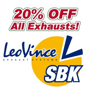 20% Off on All Leo Vince Exhausts