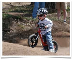 We Ride Motorsports is an authorized dealer of the Strider Balance Bike