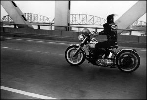 Shiny toys: In 1966, crossing the Ohio River in Louisville, Ky.