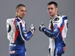 Marco Melandri & Leon Haslam for BMW