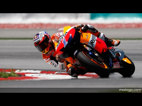Final Day of MotoGP Testing in Sepang - Casey Stoner