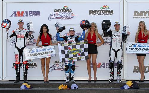 Elena Myers Wins at Daytona 2012