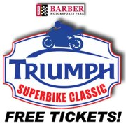 Free ticket giveaway contest barber motorsports park superbike classic | We Ride Motorsports