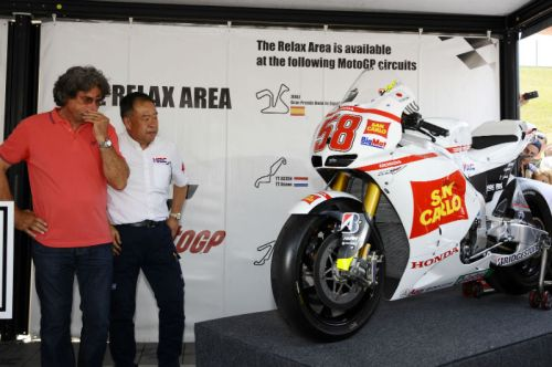 Marco Simoncelli bike presented by HRC | We Ride Motorsports