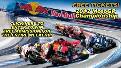 Click here to enter to win tickets to the 2012 MotoGP Championship Mazda Raceway Laguna Seca | We Ride Motorsports