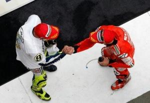 Casey Stoner replies to Valentino Rossi