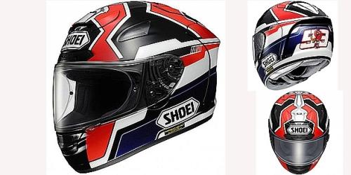 Shoei X 12 Marc Marquez Replica Motorcycle Helmet