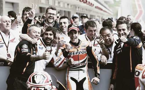 Marc Marquez - His First MotoGP at Circuit of the Americas