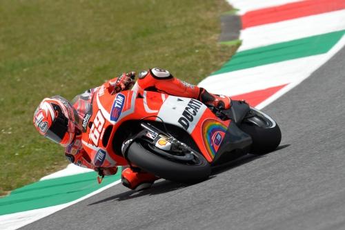 MotoGP Rider Nicky Hayden at Mugello