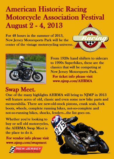 AHRMA Vintage Motorcycle Festival