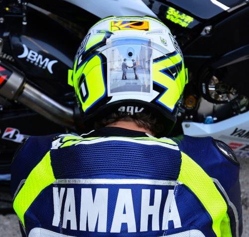 Valentino Rossi Marco Simoncelli Tribute Helmet 2013