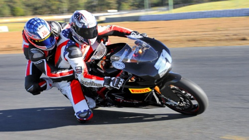 Vinxxgrip is used by Troy Bayliss